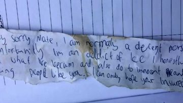 Goldilocks pair steal from Sunshine Coast homes, leave apology note
