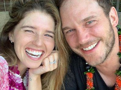 Katherine Schwarzenegger, husband, Chris Pratt, Father's Day post, Instagram, photo