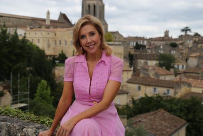 Catriona adored the charming medieval village of Saint-Emillion.