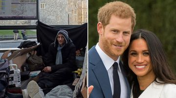 Outrage over calls to remove homeless before royal wedding