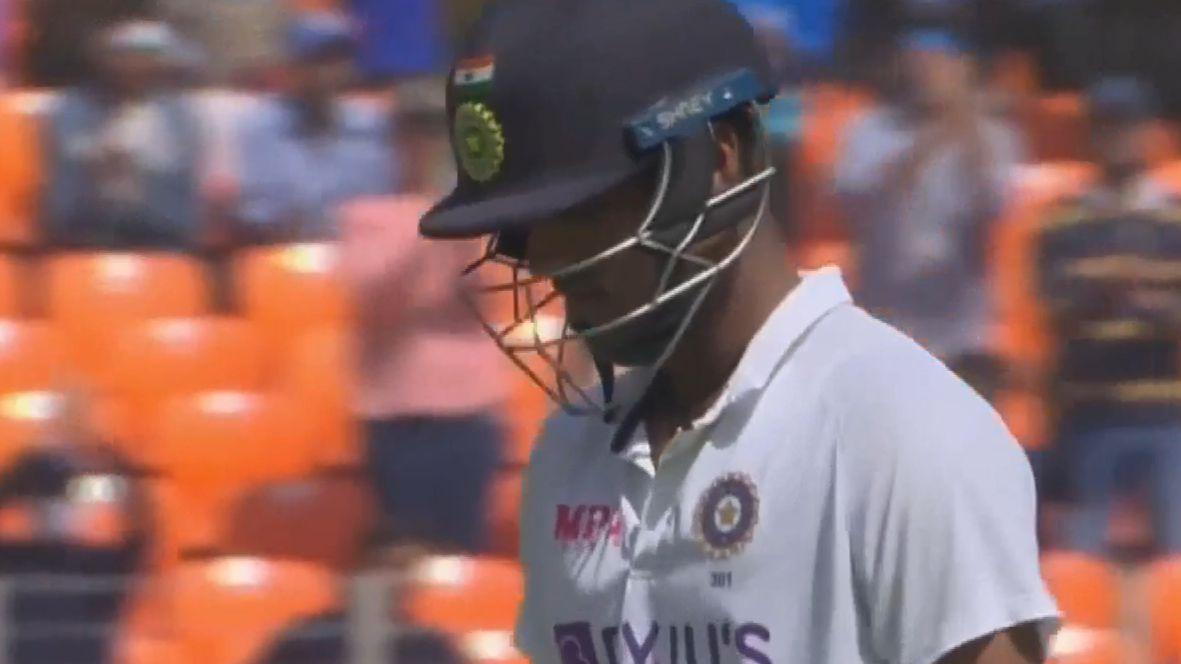 India's Washington Sundar stranded on 96 not out against England, just short of maiden Test ton