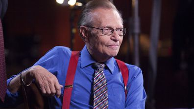 "Larry King hosted ""Larry King Live"" on CNN for over 25 years."
