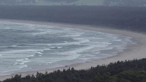 Seven Mile Beach at Gerroa, south of Wollongong in NSW, has been closed after a man was attacked by a shark.