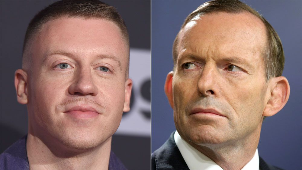 Tony Abbott's Daughter Goes Against Dad, Backs Macklemore's NRL Performance