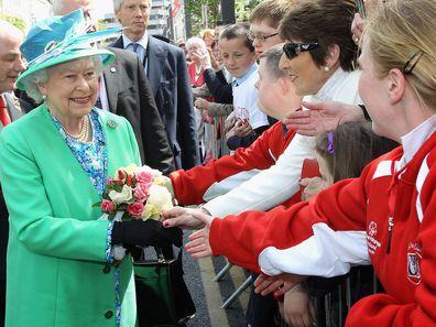 The Queen visits Ireland in 2011.