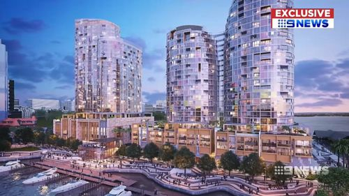 Developers are confident both projects will buck the downward trends. Picture: 9NEWS