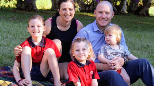 The Rickard family are part of Australian families fighting to get a new drug on the PBS.