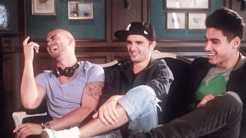 'If you don't like us, f--- you!' The Wanted open up about skin rashes, rivals 1D and being the pop version of Coldplay