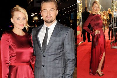 """""""A little while back, they put pictures in the magazines saying Leo and I were on a balcony in Miami,"""" Margot explained to <i>Los Angeles Times</i>. """"It's not me. It's a six-foot Ukrainian model. Really, I could lock myself away in a dark room for the rest of my life and they still could say I'm having an affair with someone.""""<br/><br/>(Image: Margot and Leo at the UK premiere of <i>The Wolf of Wall street</i> / Getty)"""