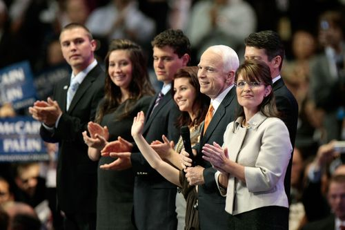 Track is Palin's oldest son and an Iraq war vet.