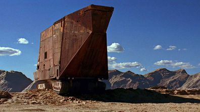 Sandcrawler vehicle Star Wars