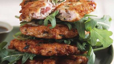 "<a href=""http://kitchen.nine.com.au/2016/05/17/19/10/chicken-and-ham-patties"" target=""_top"">Chicken and ham patties</a> recipe"