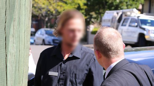 Police allege a 24-year-old Manly man sent sexually explicit comments to a boy, then aged 15, on social media after meeting him at an interstate sports event. (NSW Police)
