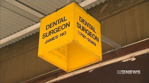 Up to ten thousand patients being told to get a blood test because of potential exposure to HIV and hepatitis at this Sydney dental clinic. Picture: 9NEWS