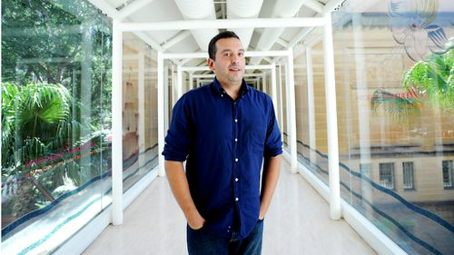 Christos Tsiolkas, author of The Slap in 2011. (AAP)