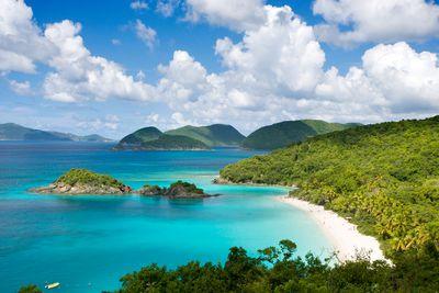 <strong>10.Trunk Bay,Virgin Islands</strong>