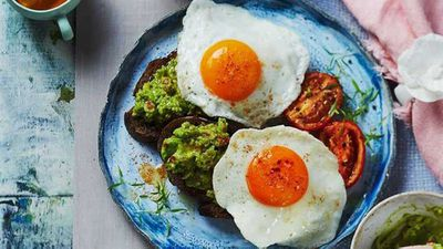 "<a href=""http://kitchen.nine.com.au/2017/02/16/07/35/fried-eggs-with-spiced-avocado"" target=""_top"">Fried eggs with spiced avocado</a> recipe"