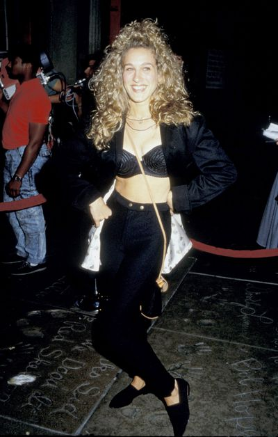 Sarah Jessica Parker at the The Palace in Hollywood, 1987