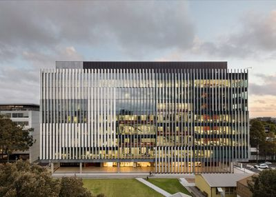 The UNSW Materials Science and Engineering Building (NSW) by Grimshaw