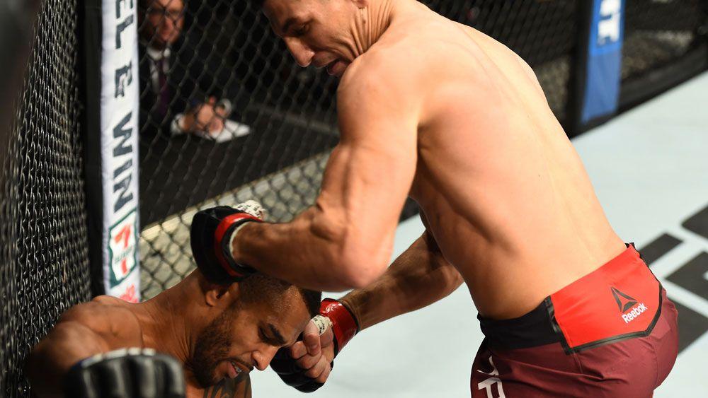 Neymar's bodyguard Nordine Taleb scores brutal knockout win at UFC Fight Night in Winnipeg