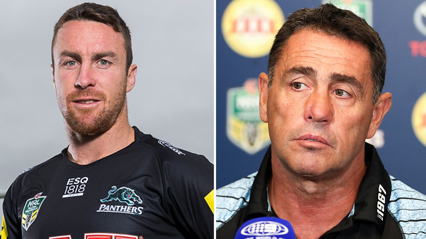 Penrith Panthers recruit James Maloney admits he hasn't spoken to Cronulla Sharks coach Shane Flanagan since NRL move