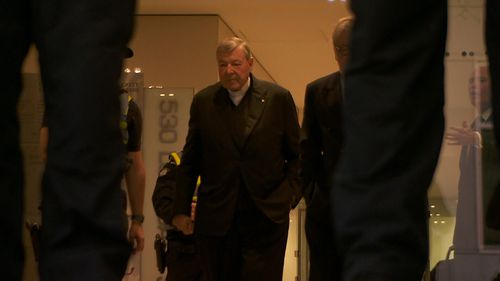 Cardinal Pell is facing court for a commital hearing.