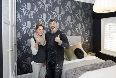 "Having come fourth in the bathroom reveal, Jason and Sarah had a point to prove this week.<span style=""white-space:pre;"">	</span>"