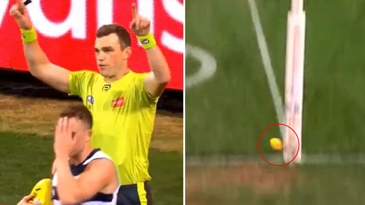 'The gift that keeps on giving': AFL score review confusion reigns supreme once again