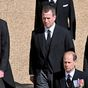 Prince William 'requested' his cousin walk between he and Harry during grandfather's funeral procession