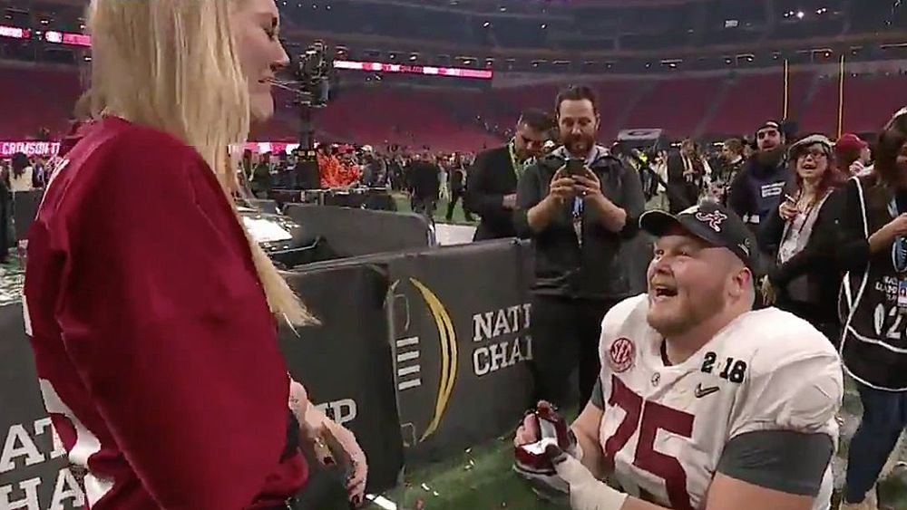 College football national championship: Alabama defeat Georgia in OT