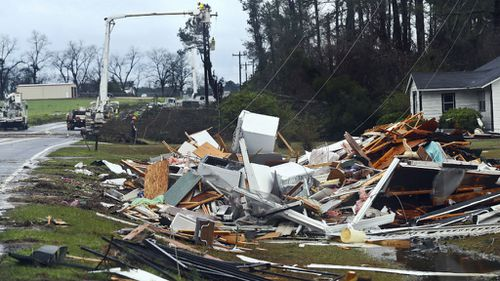 Eleven killed and 23 others injured in powerful storms in Georgia
