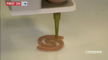 VIDEO: Diners sample 3D printed meat