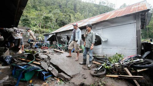 Three children among twelve killed in Bali landslide