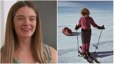 Meet the Aussie teen who set an incredible polar record