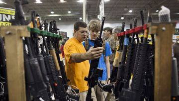 The US has much laxer gun laws than almost any other country.