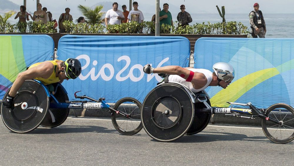 Fearnley loses final Para gold by a second