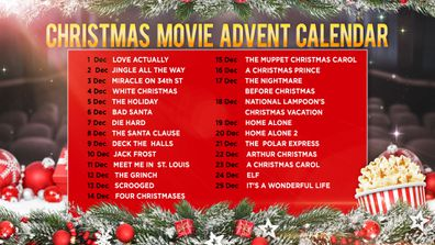 Your movie guide to Christmas.