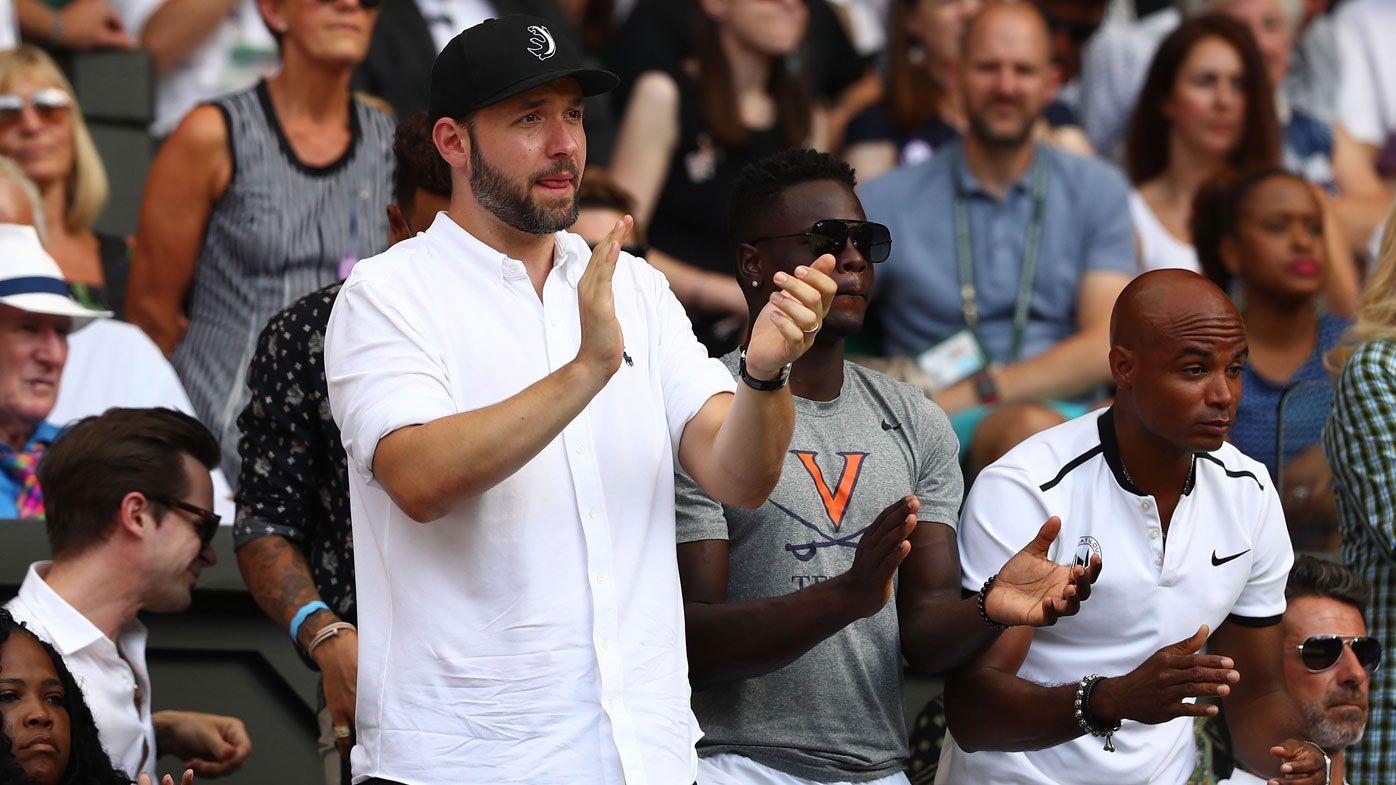 Serena Williams' husband posts heartfelt message after Wimbledon final loss