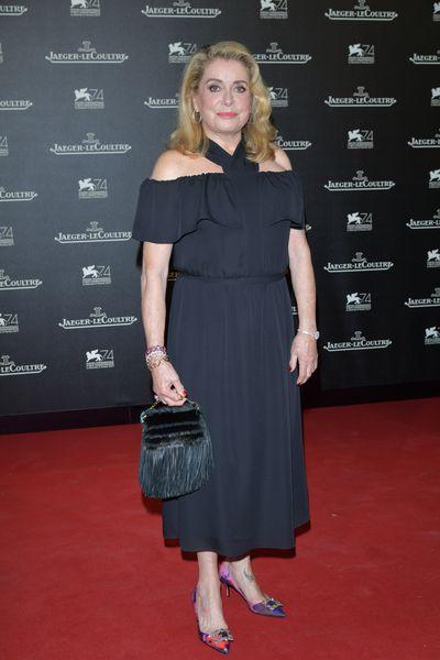 Catherine Deneuveat the Venice Film Festival, 2017.