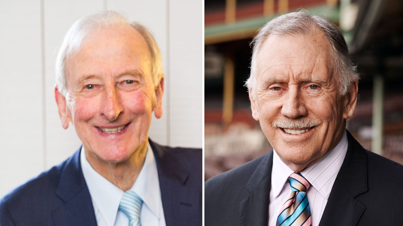 Bill Lawry (left) and Ian Chappell