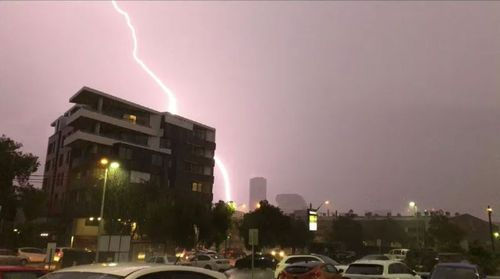 The greater Sydney region and the Hunter Valley have been battered by hailstones, heavy rainfall and wind gusts during a severe thunderstorm.