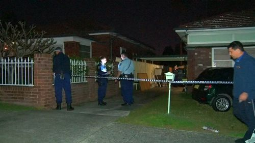 The man was stabbed during an altercation in Kogarah. (9NEWS)