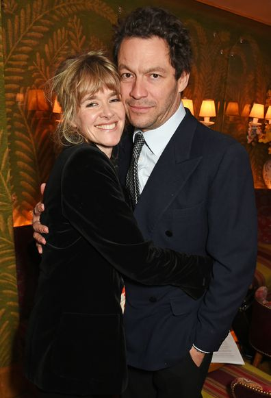 Catherine Fitzgerald and Dominic West in 2017
