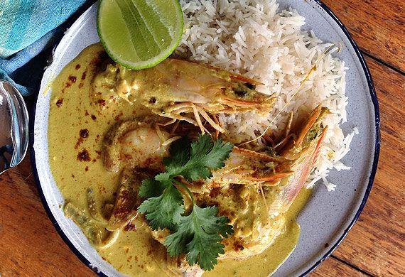 Jeremy's Sri Lankan fish curry