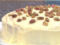 Orange and pistachio cake recipe