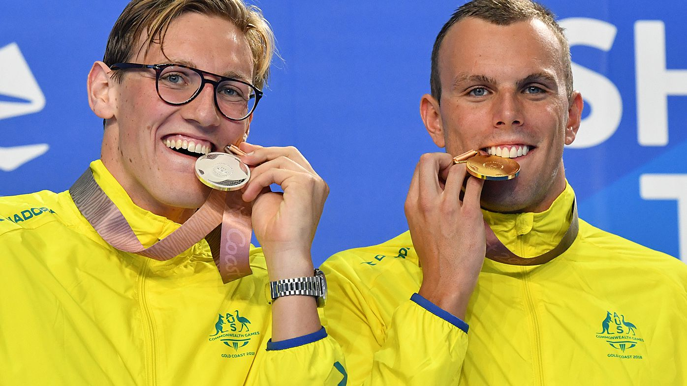 Kyle Chalmers wins 200m freestyle gold, Mack Horton takes silver at Commonwealth Games