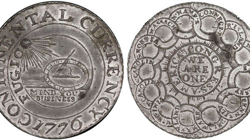 The 1776 coin was snapped up for less than a dollar by one lucky buyer, who has chosen to remain anonymous.