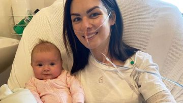 Emily Tindal said she had been experiencing respiratory problems after Eleni's birth, but her GP put it down to adult-onset asthma.