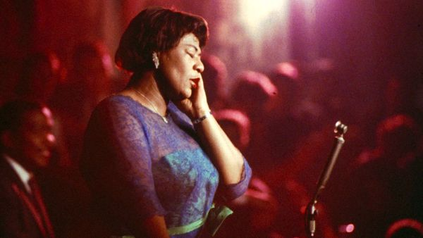 Ella Fitzgerald performing