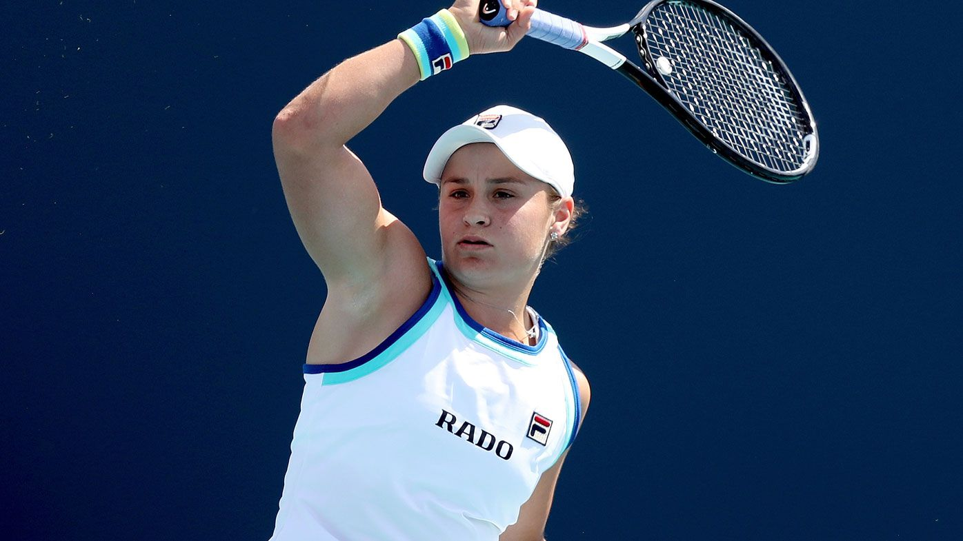 Tennis legends say 'staggering' Australian Open campaign awaits Ash Barty